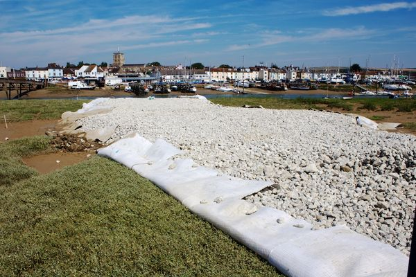 Work starts on the new Shoreham footbridge