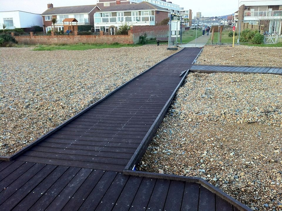 Shoreham Beach Boardwalk