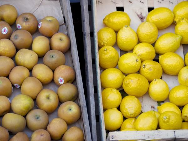 Fruit outside Ginger & Dobbs